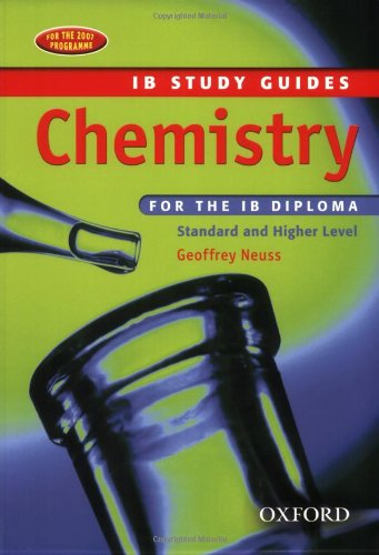 9780199151424: Chemistry for the IB Diploma: Study Guide (International Baccalaureate Course Companions)