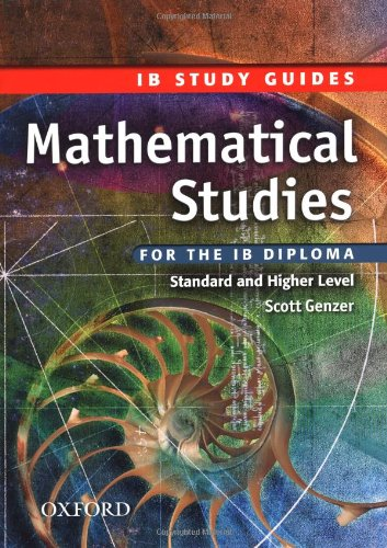 9780199152421: IB Study Guide: Mathematical Studies: For the IB Diploma