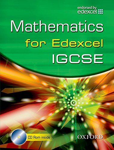 9780199152629: Edexcel Maths for IGCSE� (with CD)