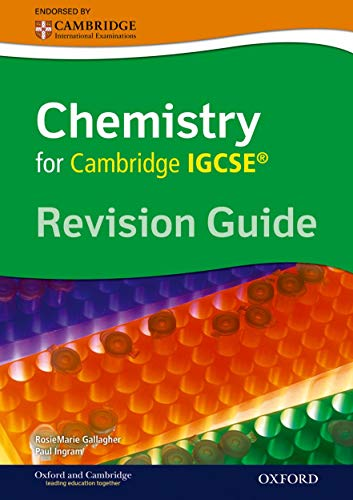 9780199152667: Cambridge Chemistry IGCSE� Revision Guide