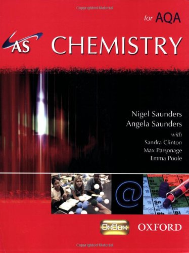 9780199152735: AS Chemistry for AQA Student Book (A Level Science for Aqa)