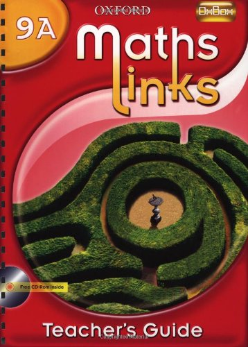 9780199153060: Mathslinks: 3: Y9 Teacher's Book a