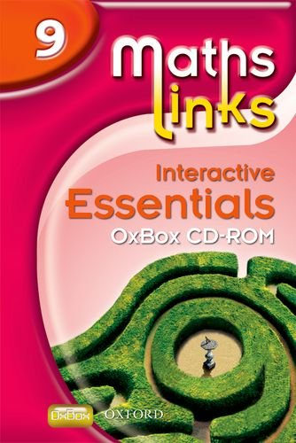 MathsLinks 3: Y9 Interactive Essentials OxBox CD-ROM (9780199153138) by Ray Allan