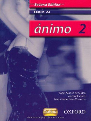 9780199153251: Ánimo: 2: A2 Students' Book (Animo)