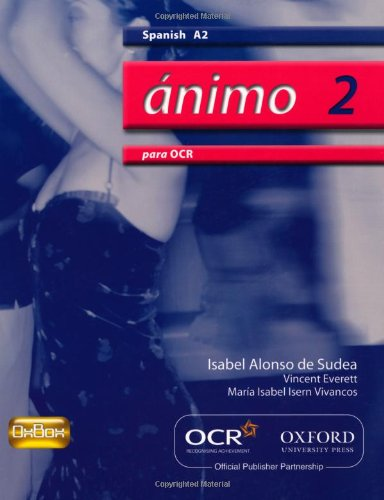 9780199153268: Ánimo 2: Para OCR A2 Students' Book (Animo 2)