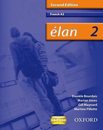 Elan 2 A2 Students Book 2e: Bourdais
