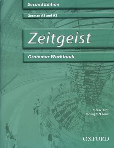 Zeitgeist: Grammar Workbook & CD: Hunt, Maria, McCrorie,