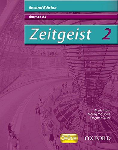 9780199153510: Zeitgeist 2: German A2. Morag McCrorie, Dagmar Sauer, Maria Hunt