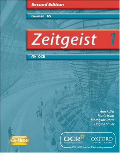 9780199153619: Zeitgeist für OCR Evaluation Pack