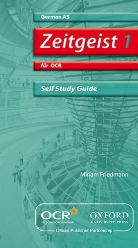 9780199153756: Zeitgeist 1: für OCR AS Self-Study Guide with CD