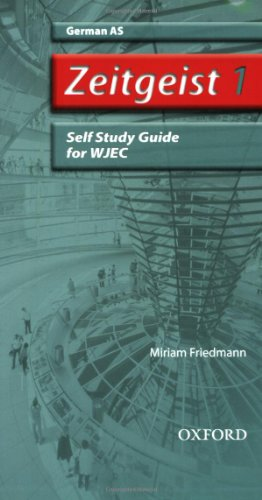 9780199153763: Zeitgeist: 1: AS WJEC Self-Study Guide with CD