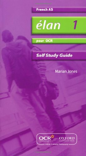9780199153794: Elan 1: Pour OCR AS Self-study Guide with CD-ROM