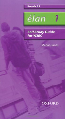 9780199153800: Elan: 1: AS WJEC Self-study Guide with CD-ROM