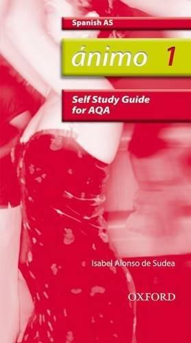 9780199153817: Ánimo: 1: AS AQA Self-Study Guide with CD-ROM (Animo 2nd ed)