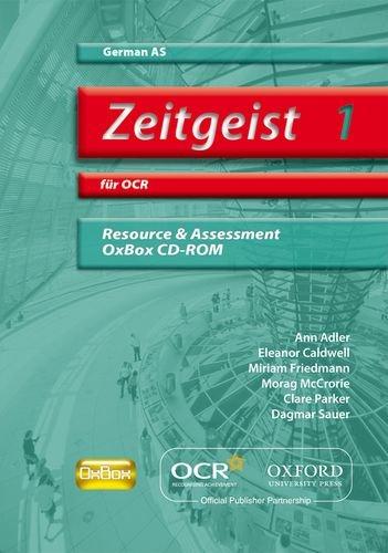 9780199153992: Zeitgeist 1: für OCR AS Resource & Assessment OxBox CD-ROM