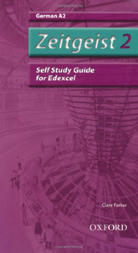 9780199154029: Zeitgeist 2. A2 Edexcel Self-Study Guide