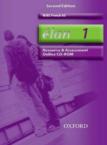 9780199154203: Elan: 1: AS WJEC Resource and Assessment OxBox CD-ROM