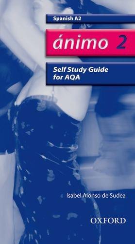 9780199154227: Ánimo: 2: A2 AQA Self-Study Guide with CD-ROM (Animo)