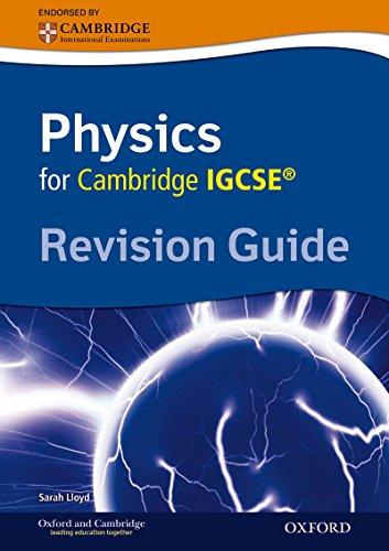 9780199154364: Cambridge physics IGCSE revision guide. Per le Scuole superiori