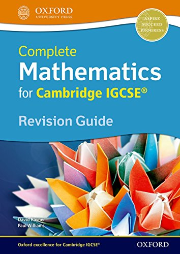 Complete Mathematics for Cambridge IGCSERG Revision Guide: Rayner, David; Williams,