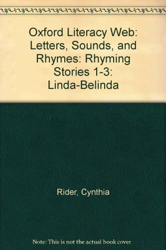 Oxford Literacy Web: Letters, Sounds, and Rhymes: Rider, Cynthia