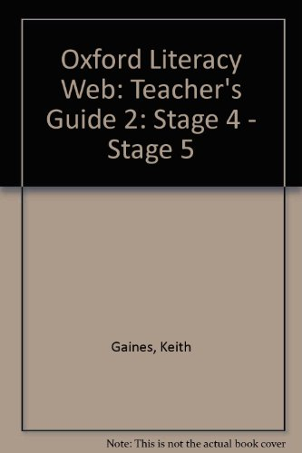 9780199156634: Oxford Literacy Web: Teacher's Guide 2: Stage 4 - Stage 5