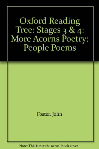 9780199167562: Oxford Reading Tree: Stages 3 & 4: More Acorns Poetry: People Poems