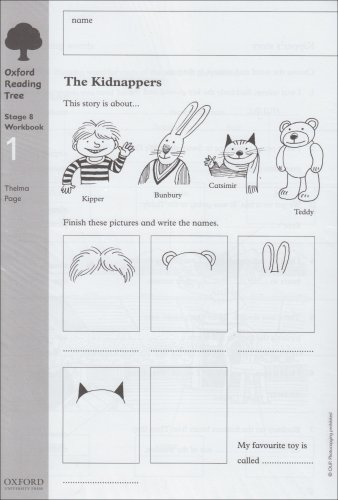 9780199167661: Oxford Reading Tree: Level 8: Workbooks: Workbook 1: The Kidnappers and Viking Adventures