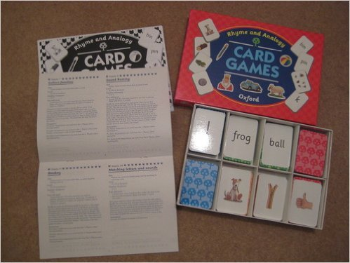 9780199167913: Oxford Reading Tree: Rhyme and Analogy: Card Games (Box of 386 Cards)