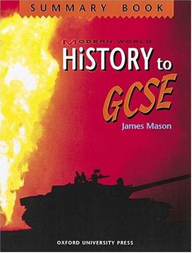 9780199171668: Modern World History to GCSE