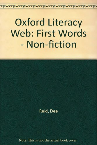 9780199174782: Oxford Literacy Web: First Words - Non-fiction