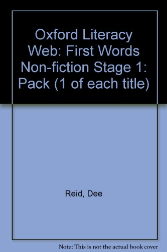 9780199174829: Oxford Literacy Web: First Words