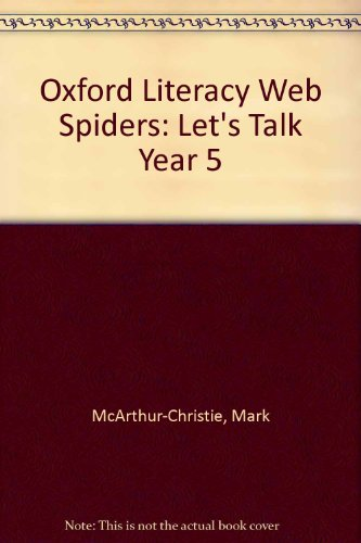 9780199175161: Oxford Literacy Web Spiders: Let's Talk Year 5