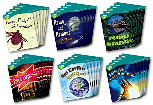 Oxford Reading Tree: Stage 16: TreeTops Non-fiction: Class Pack (36 Books, 6 of Each Title): Heddle...