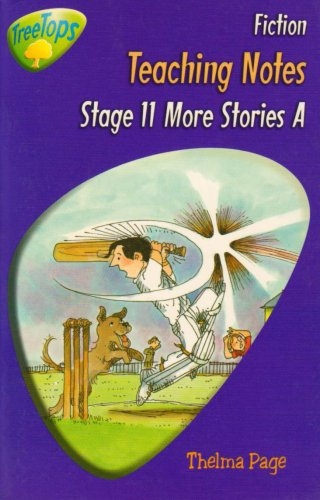 9780199179916: Oxford Reading Tree: Stage 11: TreeTops: More Stories A: Teaching Notes