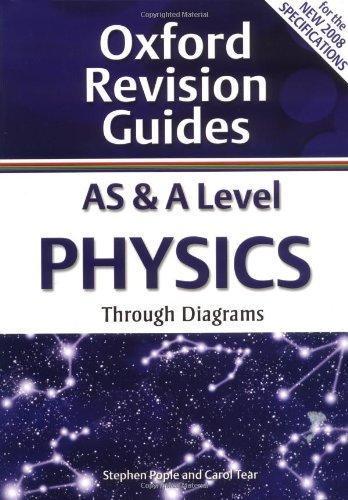 9780199180950: As & a Level Physics Through Diagrams. Stephen Pople, Carol Tear (Oxford Revision Guides)