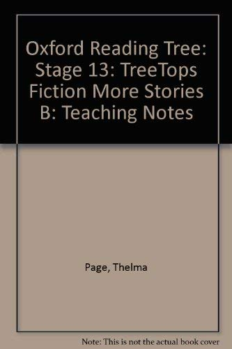 9780199184040: Oxford Reading Tree: Stage 13: TreeTops: More Stories B: Teaching Notes