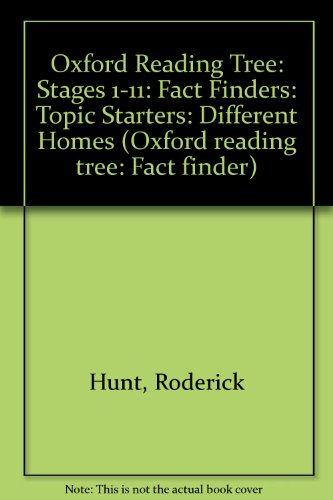 9780199185313: Oxford Reading Tree: Stages 1-11: Fact Finders: Topic Starters: Different Homes (Oxford Reading Tree: Fact Finder)