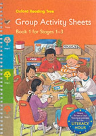 9780199189595: Oxford Reading Tree: Stages 1-3: Group Activity Sheets: Book 1: Reception and Year 1 (Term 1)
