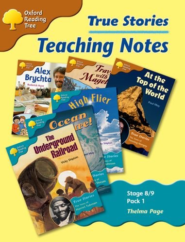 9780199196975: Oxford Reading Tree: Levels 8-9: True Stories: Pack 1: Teaching Notes