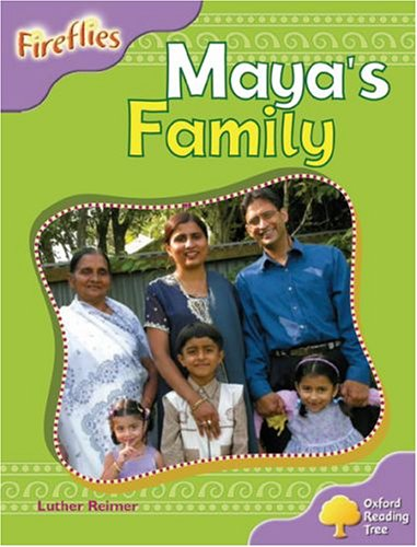 9780199197217: Oxford Reading Tree: Stage 1+: Fireflies: Maya's Family