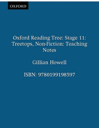 9780199198597: Oxford Reading Tree: Stage 11: TreeTops Non-fiction: Teaching Notes