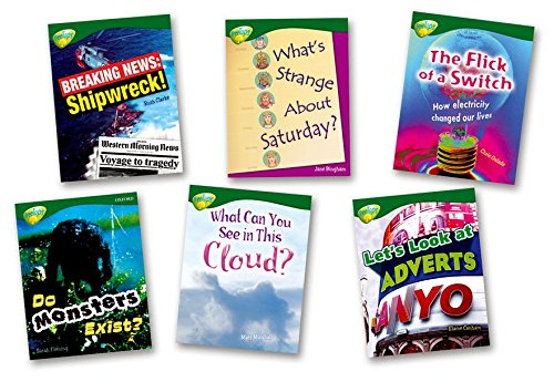 9780199198603: Oxford Reading Tree: Level 12: Treetops Non-Fiction: Pack (6 books, 1 of each title)