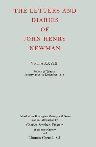 The Letters and Diaries of John Henry: John Henry Cardinal