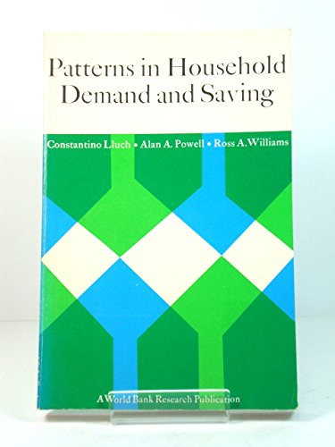 Patterns in Household Demand and Saving (World: Lluch, Constantino &