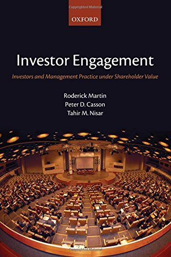 9780199202607: Investor Engagement: Investors and Management Practice under Shareholder Value