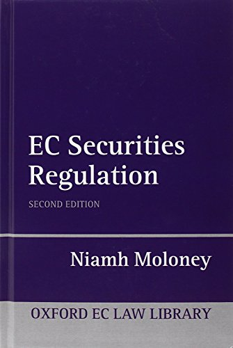 9780199202744: EC Securities Regulation (Oxford EC Law Library)