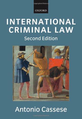 9780199203109: International Criminal Law