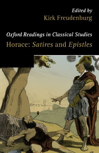 9780199203543: Horace: Satires and Epistles (Oxford Readings in Classical Studies)