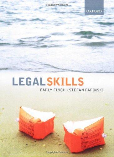 9780199203901: Legal Skills